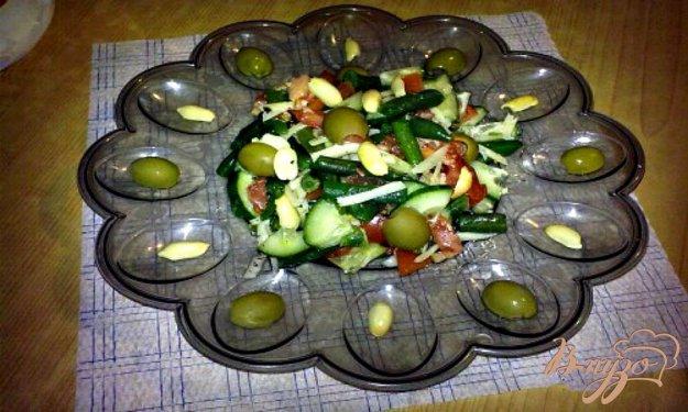 """Рецепт Салат с стручковой фасолью """"Витаминный бум"""""""