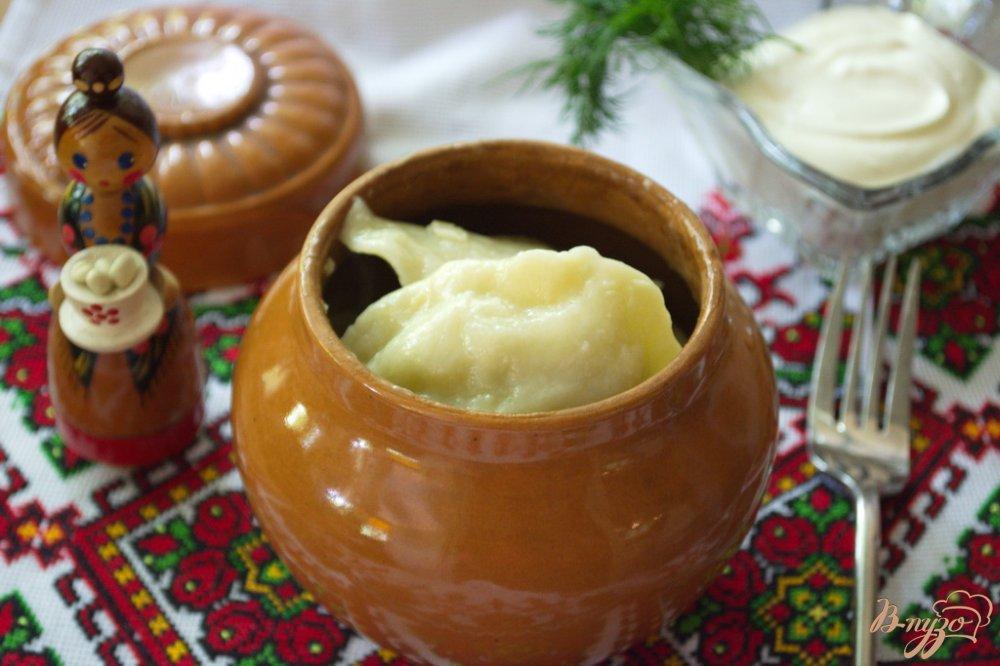Фото приготовление рецепта: Вареники украинские с начинкой из молодой капусты шаг №10