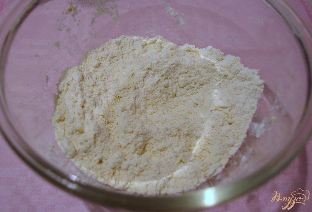 Фото приготовление рецепта: Крекер с семенами льна шаг №2