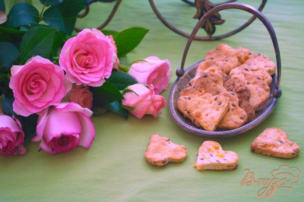 Рецепт Крекер с семенами льна