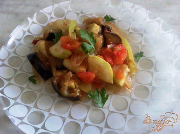 "Рецепт Овощное рагу ""Летнее"""