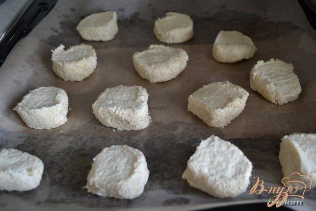 Сметано-сырное печенье с кунжутом
