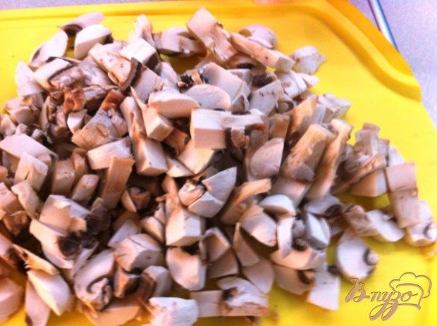 Жульен с семгой и грибами