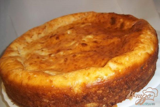 Пирог наливной с рисом и яйцом