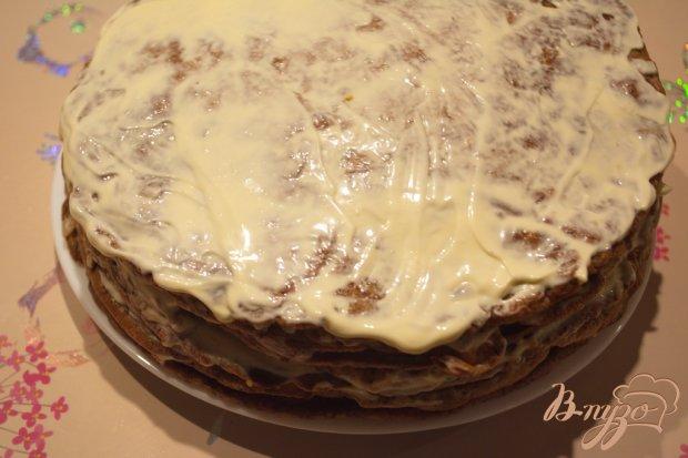 Печеночный тортик с ореховым вкусом
