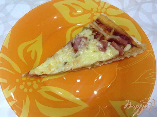 Вкуснейшая пицца с тонким тестом