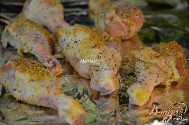 Куриные ножки с цитрусовым и кориандровым вкусом
