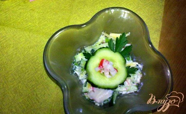 """Салат с крабовыми палочками """"Сюжет"""""""