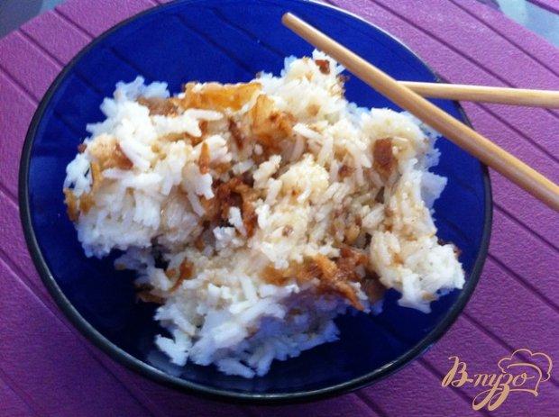 Рис с чесноком по японски