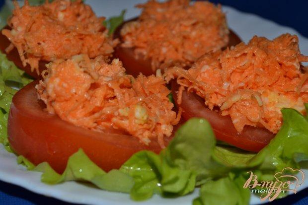 Закуска из моркови с чесноком в двух вариантах