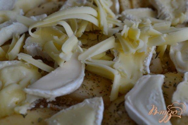 Киш с грушами и сыром