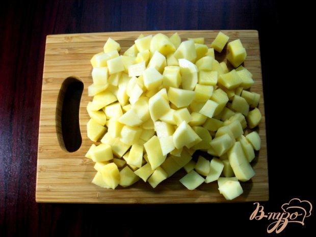Картофель тушёный в мультиварке