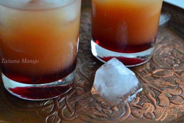 Напиток с малиновой водкой