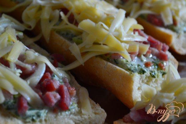 Горячий бутерброд с копченой ветчиной