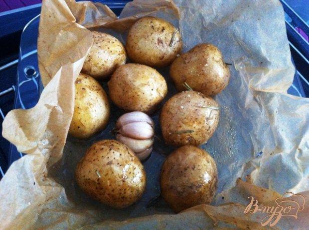 Картофель запеченный  в пергаменте