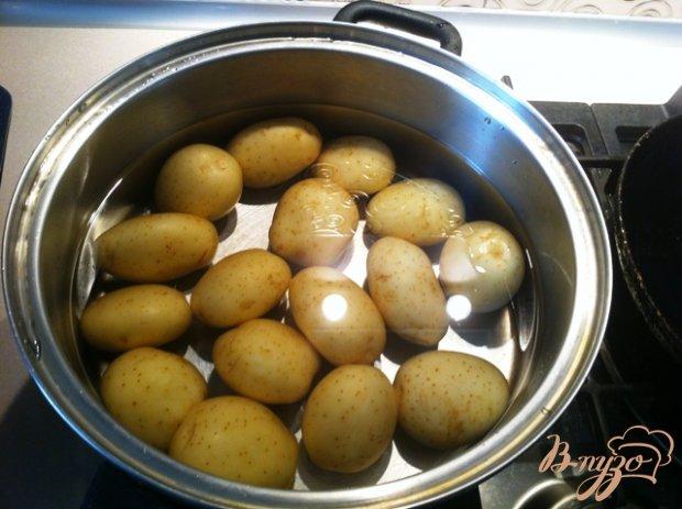 Свиные ребра в кисло-сладком маринаде с картофелем