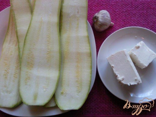 Закуска из кабачков и брынзы