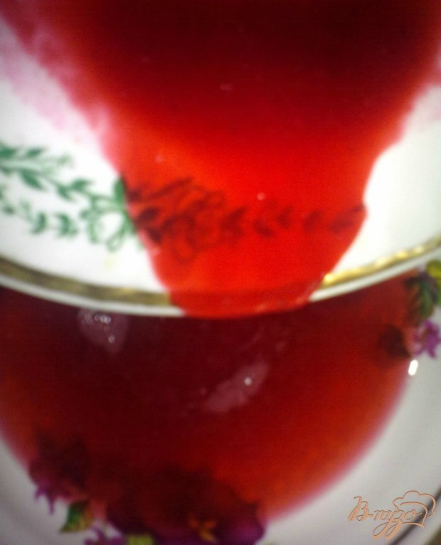 Морс из красной смородины