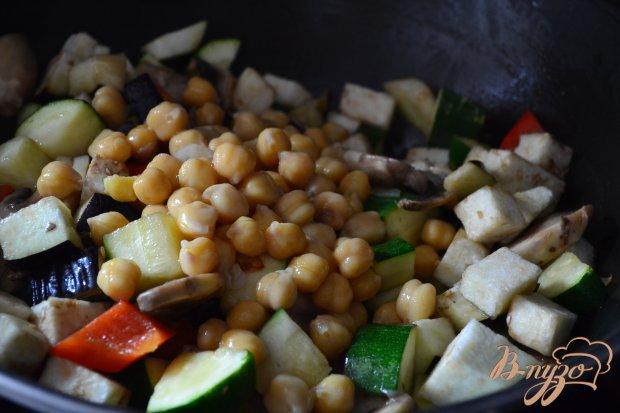 Овощное рагу с нутом