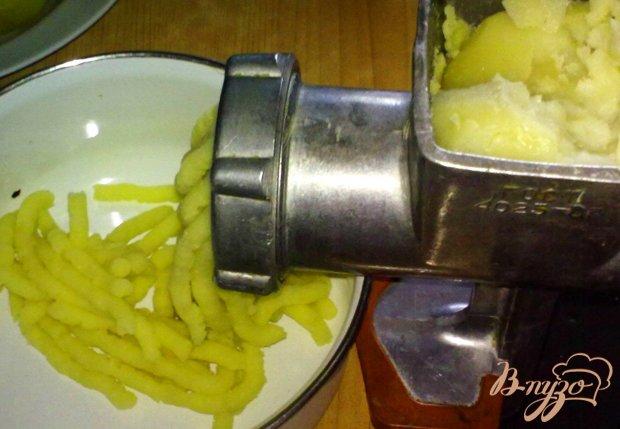 Картофельные колбаски