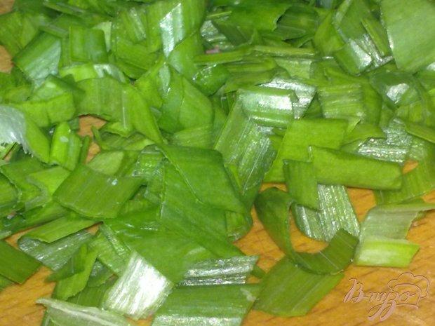 Салат с крабовым мясом и чесноком