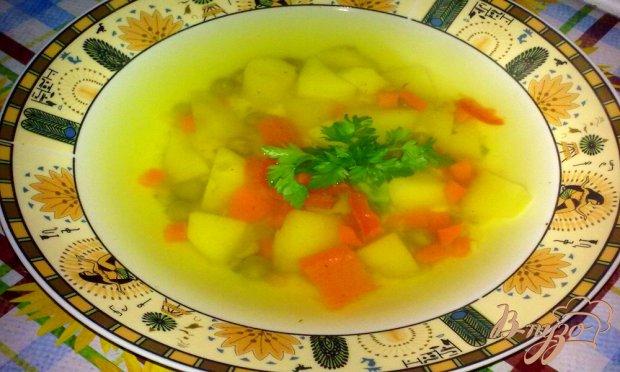 """Суп с зеленым горошком """"Легкость"""""""