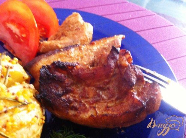 Свиные ребрышки в соусе терияки
