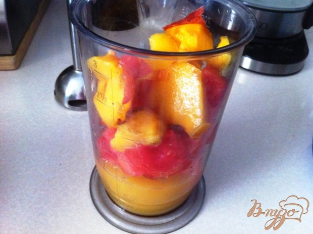 Арбузно-апельсиновый смузи