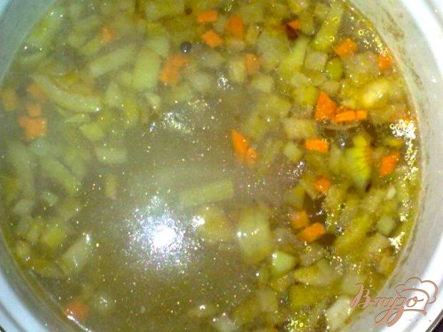 Солянка овощная с грибами