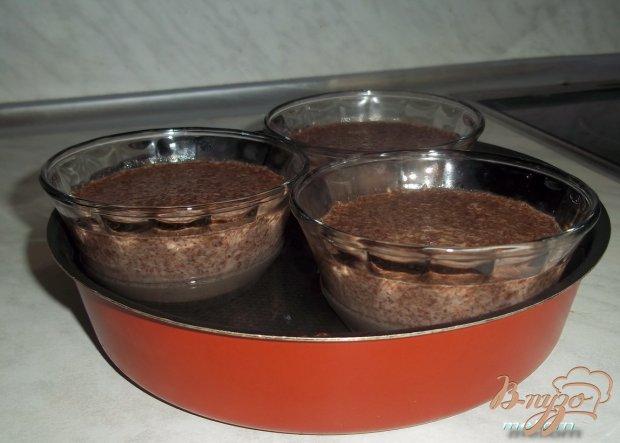 Шоколадное суфле с кокосом