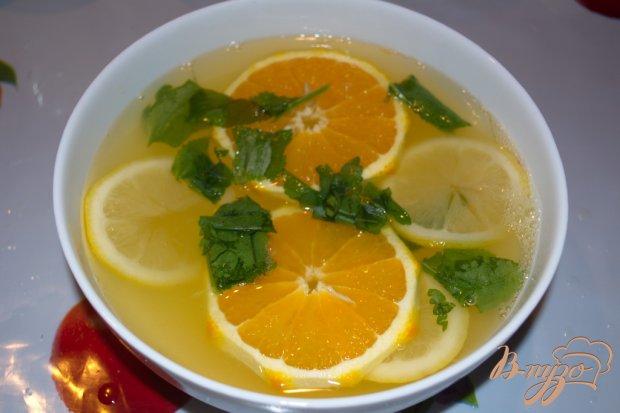 Сельский лимонад из апельсин и лимона