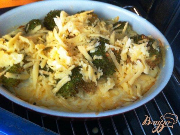 Омлет из брокколи с сыром