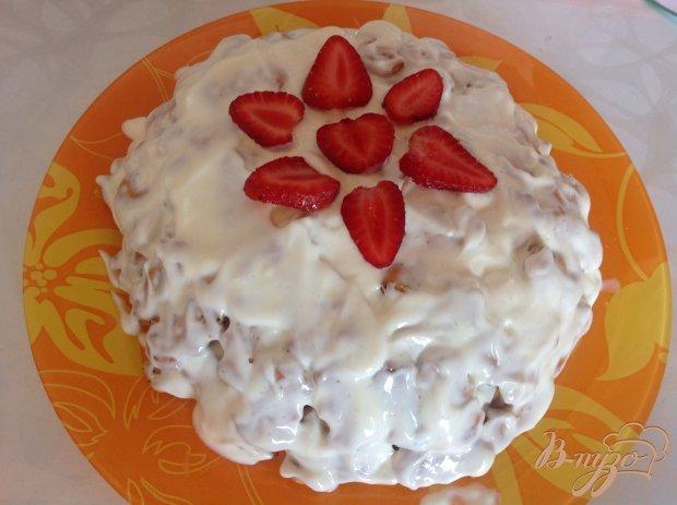 Торт из крекера