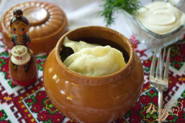 Вареники украинские с начинкой из молодой капусты