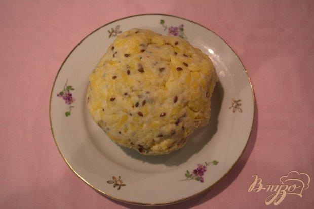 Крекер с семенами льна
