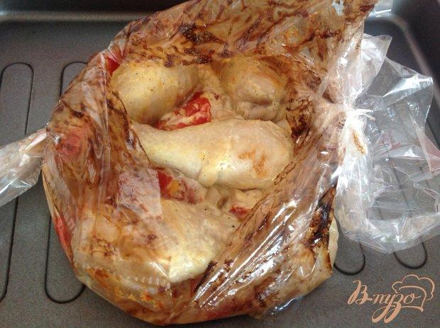 Курица с помидорами в сметанном соусе