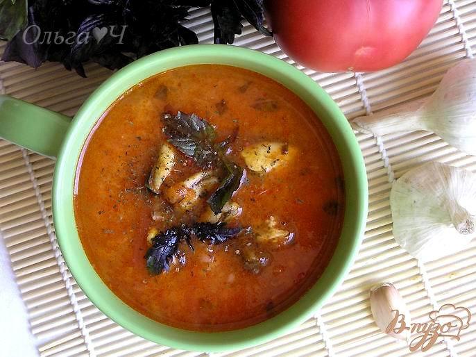 Фото приготовление рецепта: Вьетнамский томатный суп шаг №7