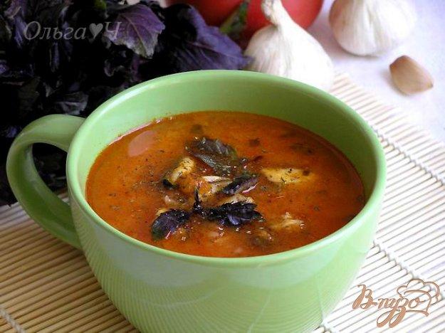 фото рецепта: Вьетнамский томатный суп