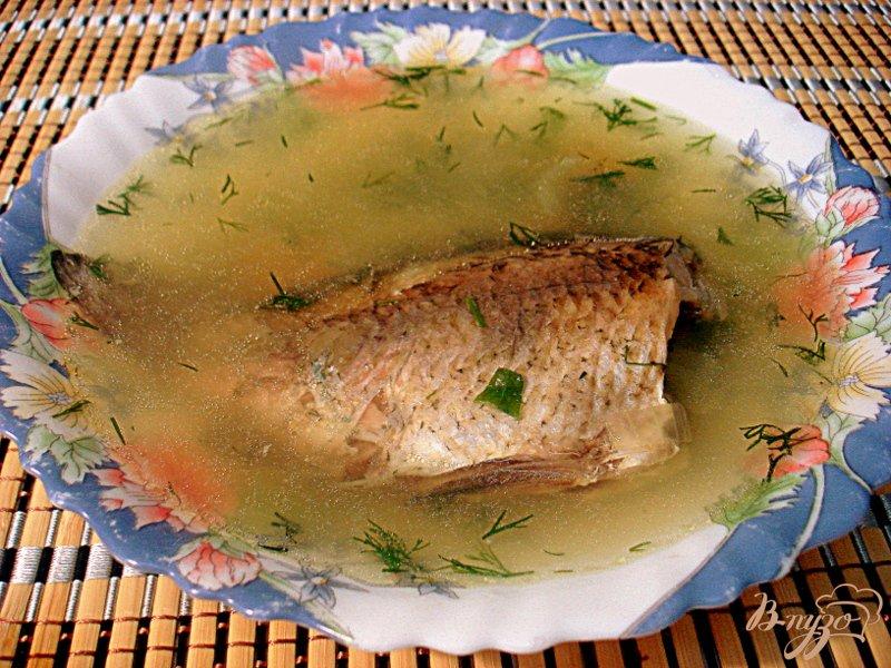 Фото приготовление рецепта: Суп из карасей шаг №8