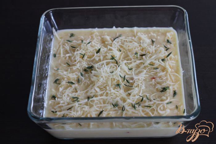Фото приготовление рецепта: Сырная фриттата шаг №2
