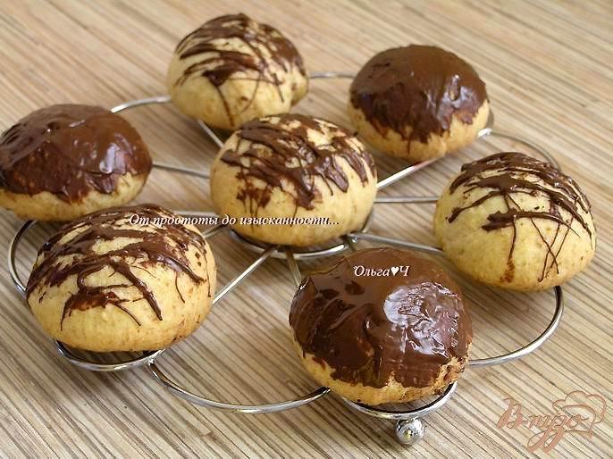 Фото приготовление рецепта: Творожные пряники в шоколаде шаг №6