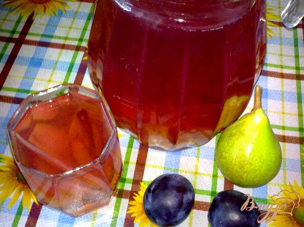 Рецепт Компот ягодный с грушей