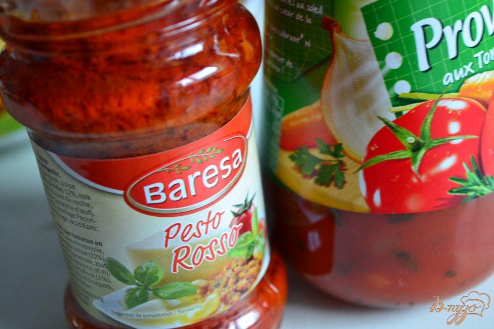 Фото приготовление рецепта: Тушеные овощи с копченой куриной грудкой шаг №2