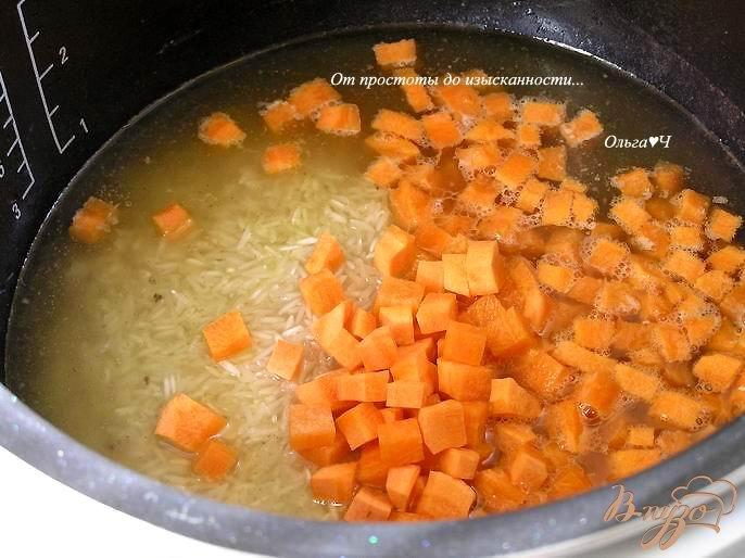 Фото приготовление рецепта: Курица с рисом (в мультиварке) шаг №2