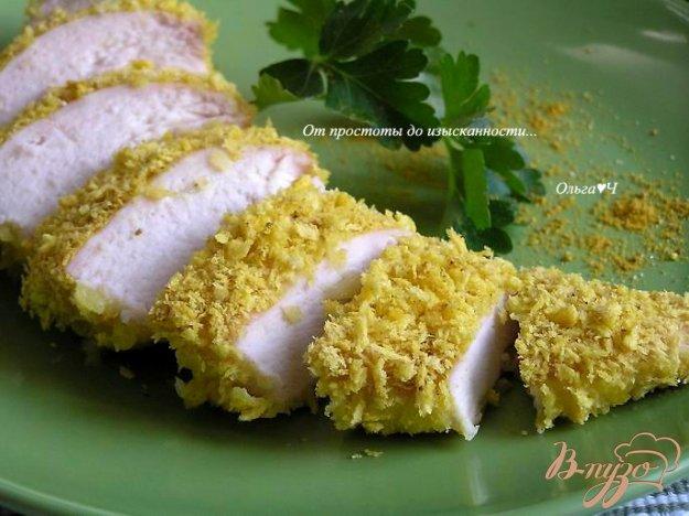 Рецепт Куриные грудки в карри-панировке