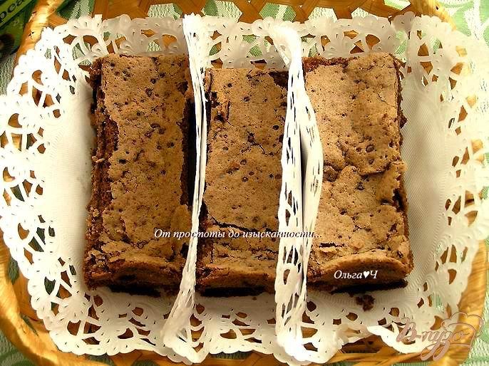 Фото приготовление рецепта: Шоколадные гато от Жана Люка Рабанеля шаг №5
