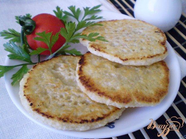 Рецепт Картофелные оладьи с высивками пшеничными