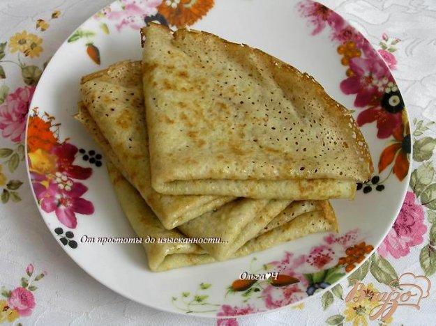 Рецепт Бабушкины блинчики с коричневым сахаром