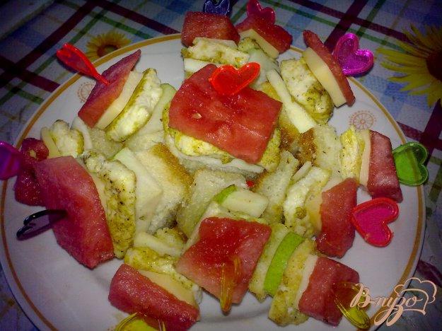 Рецепт Канапе с арбузом