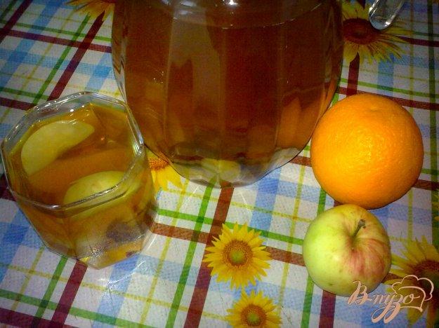 фото рецепта: Компот из апельсина и ...